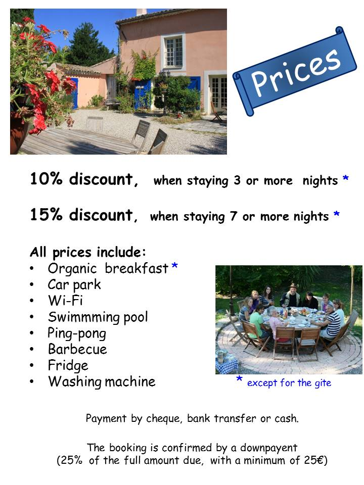 Blog Présentation Cigale bleue English prices 78