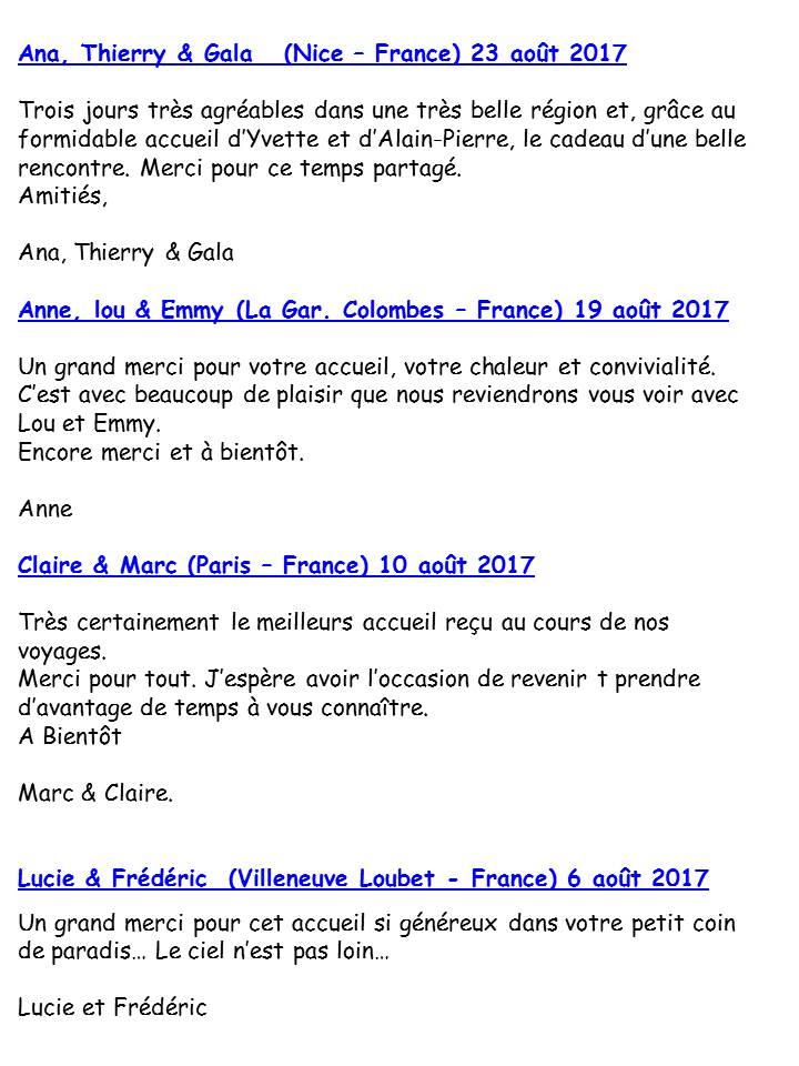 Blog Présentation Cigale bleue livre d'or F1 78c