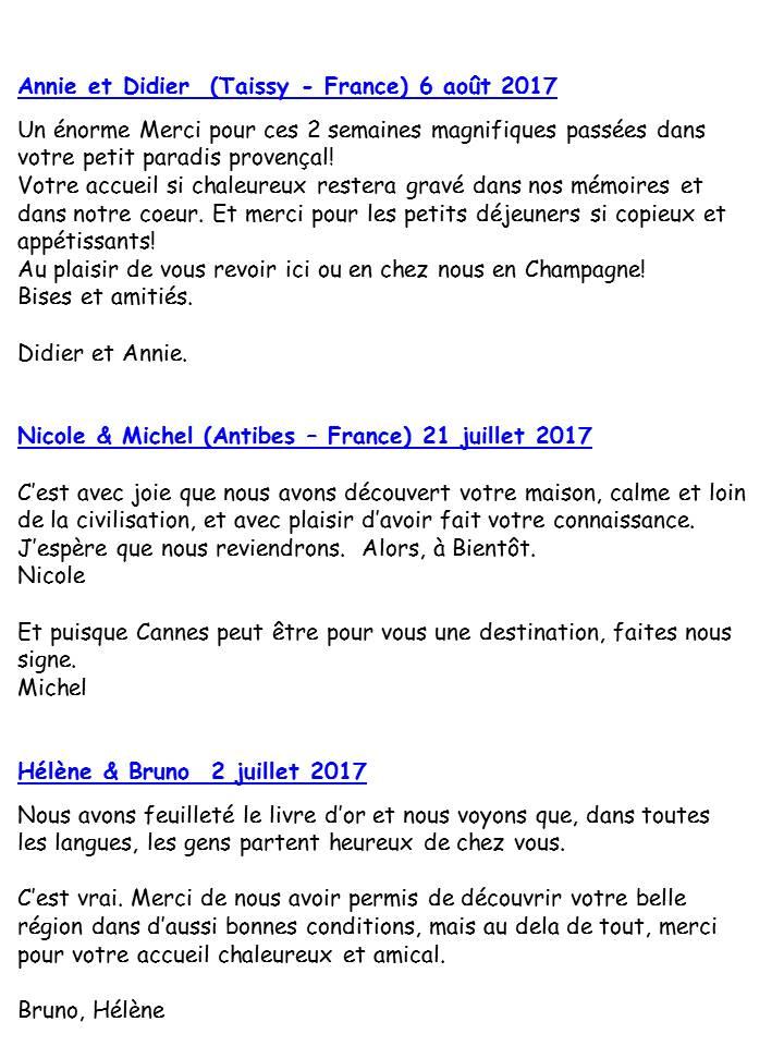 Blog Présentation Cigale bleue livre d'or F2 78c
