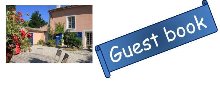 Bloog Présentation Cigale bleue Guest book 0 43