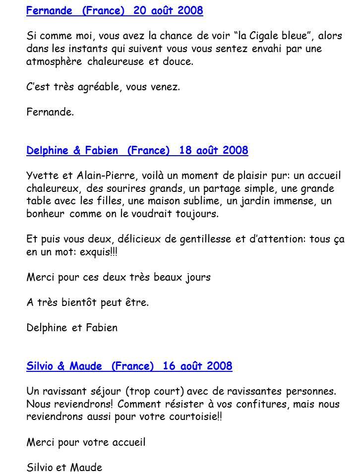 Bloog Présentation Cigale bleue Livre d'or 12 43