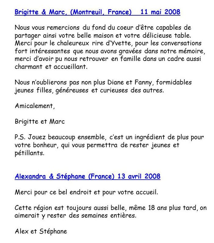 Bloog Présentation Cigale bleue Livre d'or 15 43