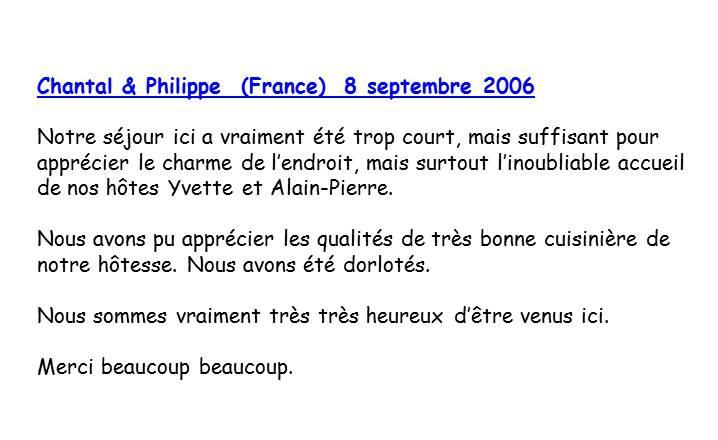 Bloog Présentation Cigale bleue Livre d'or 19 43