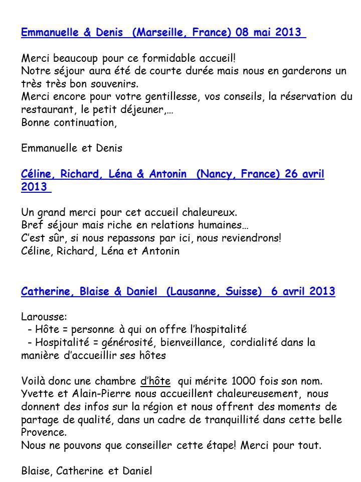 Bloog Présentation Cigale bleue Livre d'or 3 43