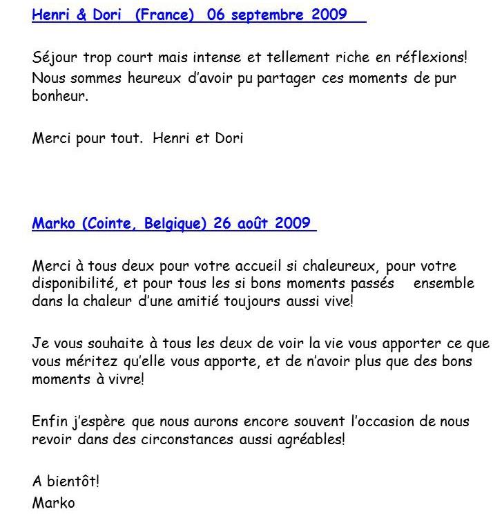 Bloog Présentation Cigale bleue Livre d'or 4 43