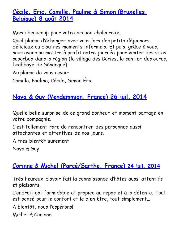 Bloog Présentation Cigale bleue Livre d'or 51 10