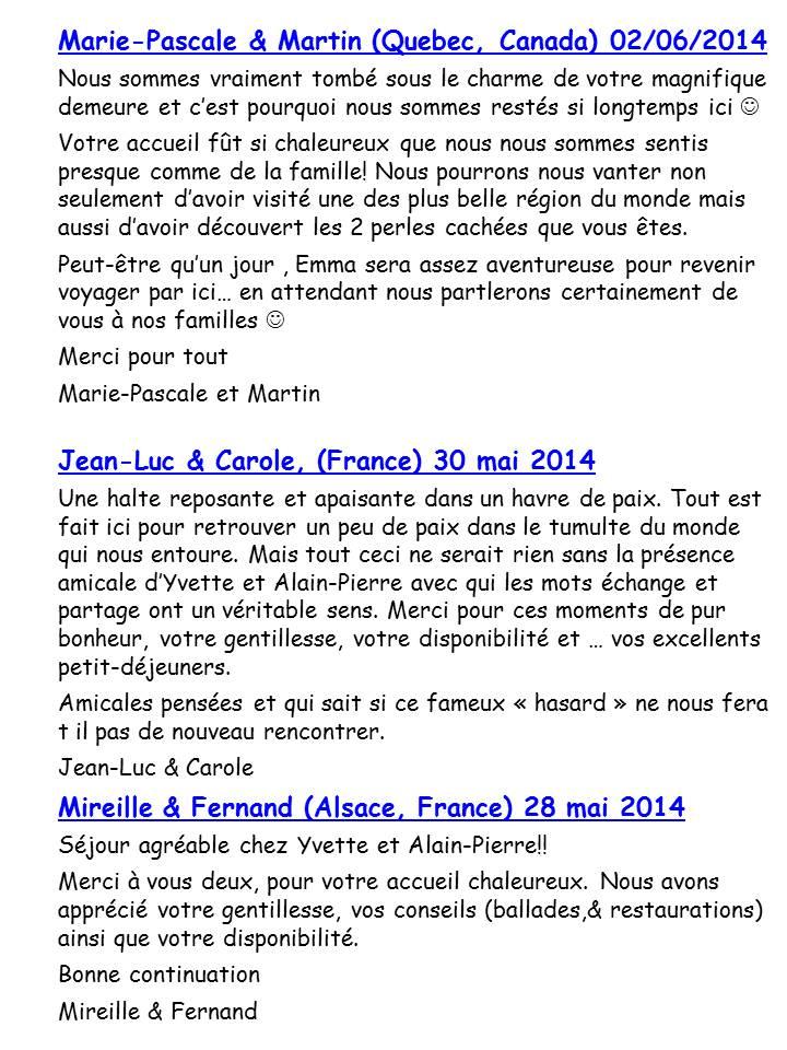 Bloog Présentation Cigale bleue Livre d'or 51 12
