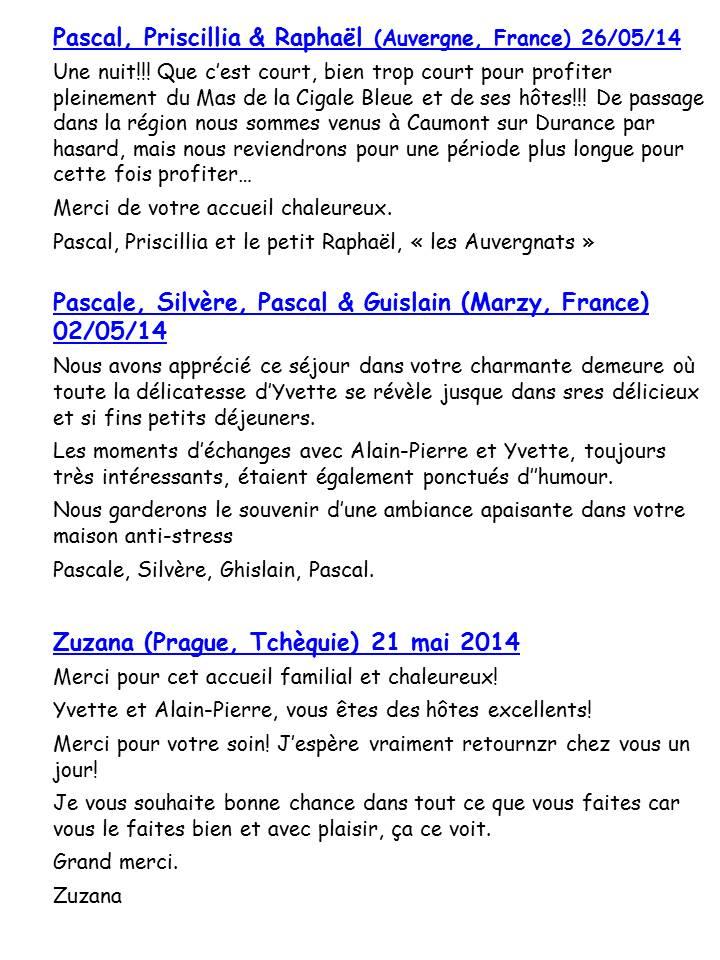 Bloog Présentation Cigale bleue Livre d'or 51 13