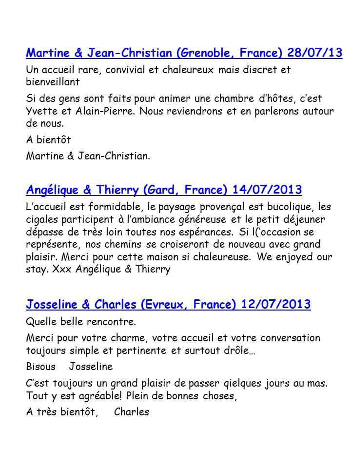 Bloog Présentation Cigale bleue Livre d'or 51 15
