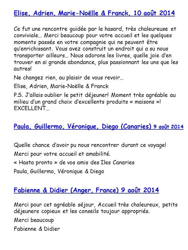 Bloog Présentation Cigale bleue Livre d'or 51 9