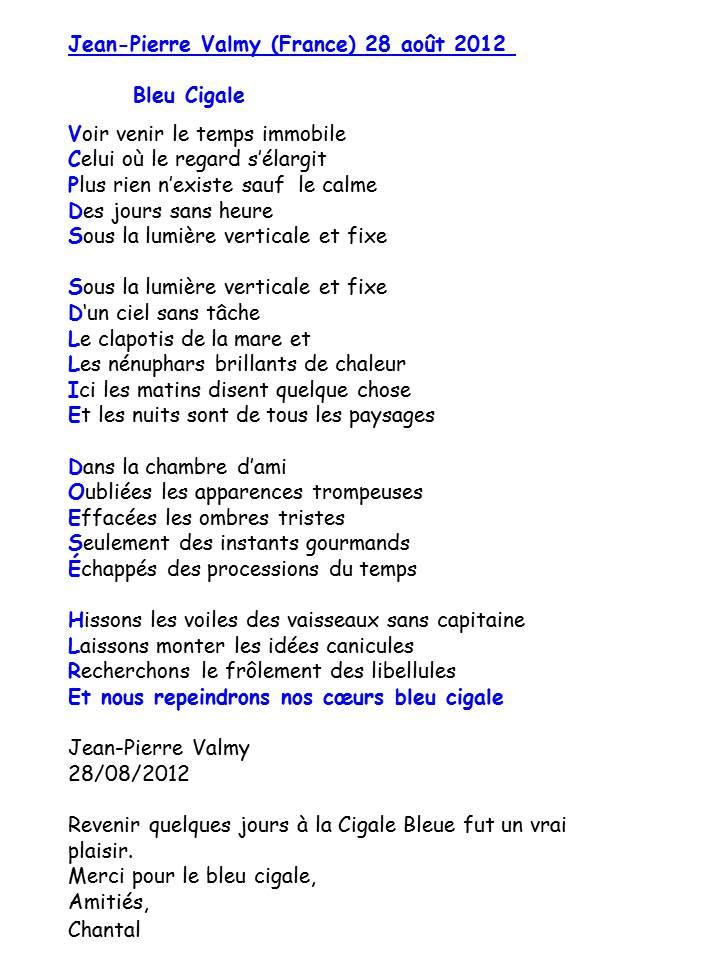 Bloog Présentation Cigale bleue Livre or poemes5 F 43