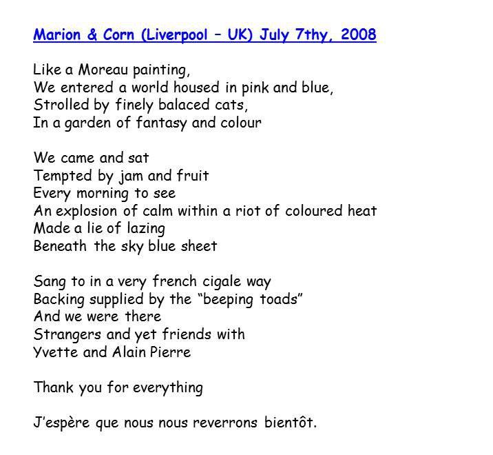 Bloog Présentation Cigale bleue livre or poemes2 F 43